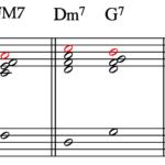 分数コード(2) G7/F – C/E
